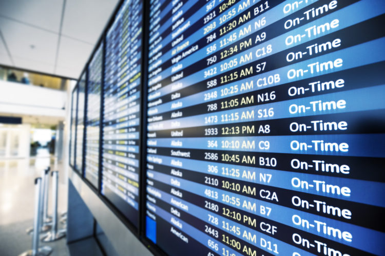How has air travel in specific metropolitan areas changed in recent years?