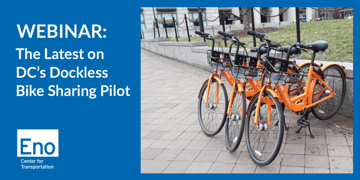 The Latest on DC's Dockless Bike Sharing Pilot