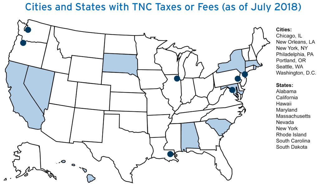 Eno Brief: Taxing New Mobility Services: What's Right? What's Next?