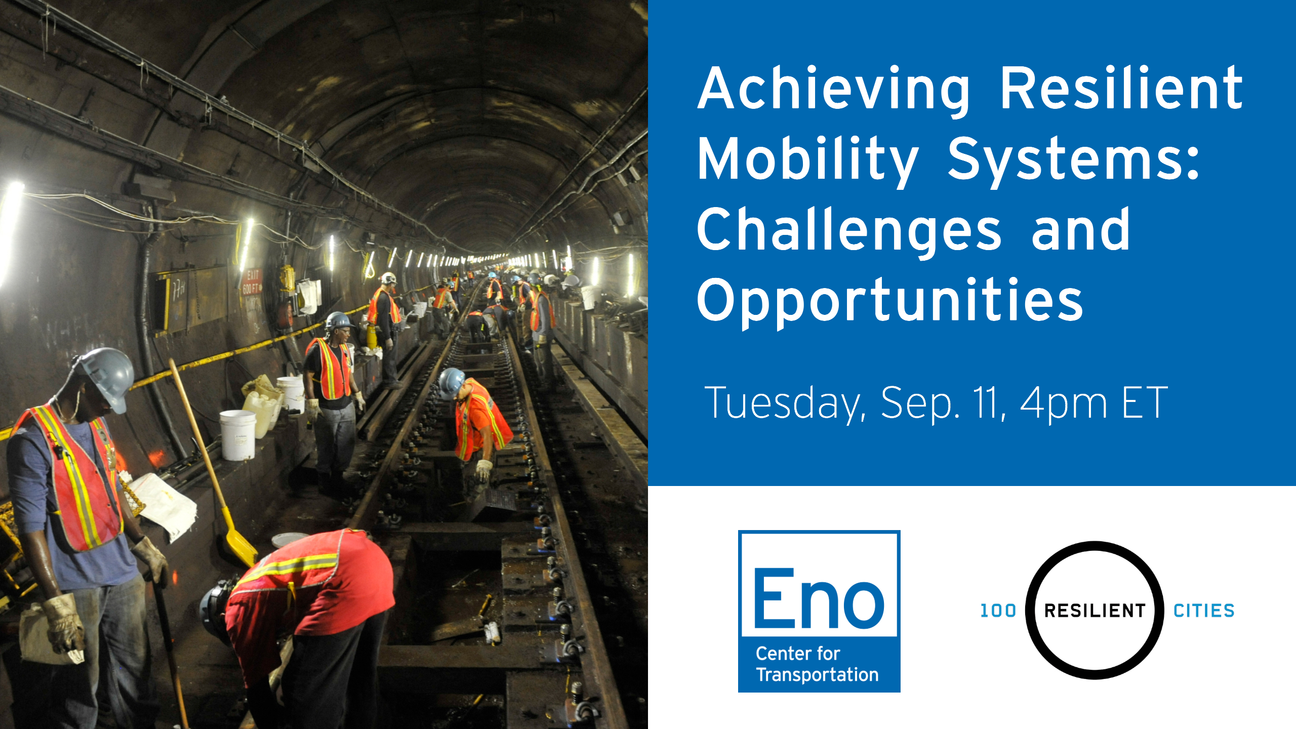 Achieving Resilient Mobility Systems: Challenges and Opportunities