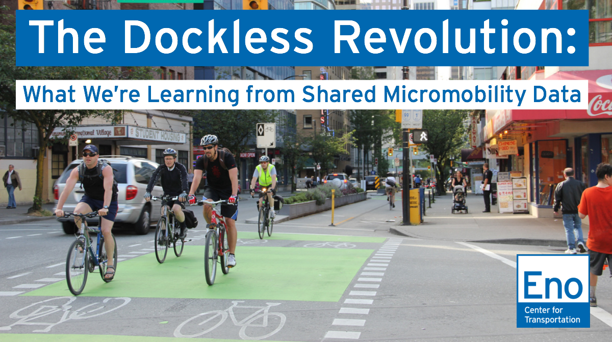 Webinar: The Dockless Revolution: What We're Learning from Shared Micromobility Data