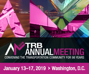 Eno Sessions at the TRB Annual Meeting