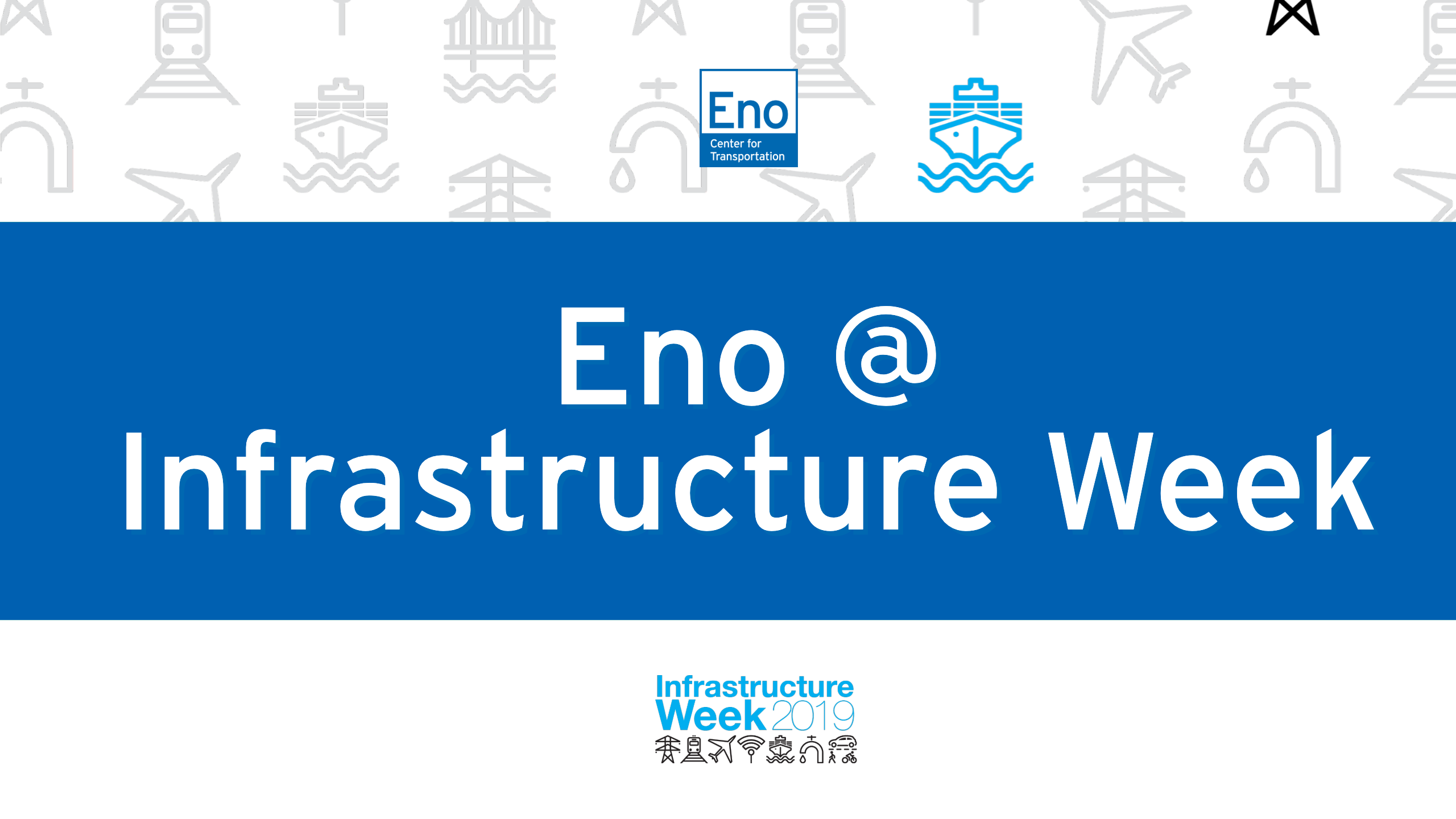 Eno at Infrastructure Week